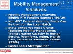 mobility management initiatives