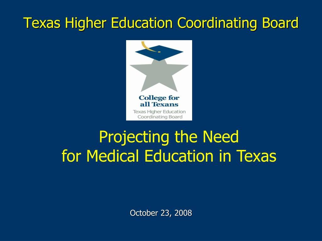 texas higher education coordinating board l.