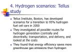 4 hydrogen scenarios tellus study
