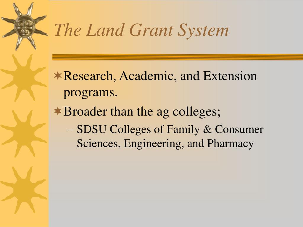 The Land Grant System
