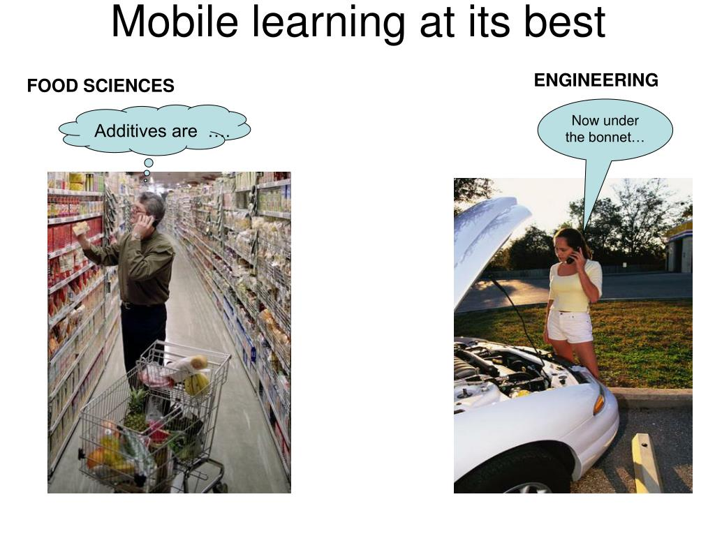 Mobile learning at its best