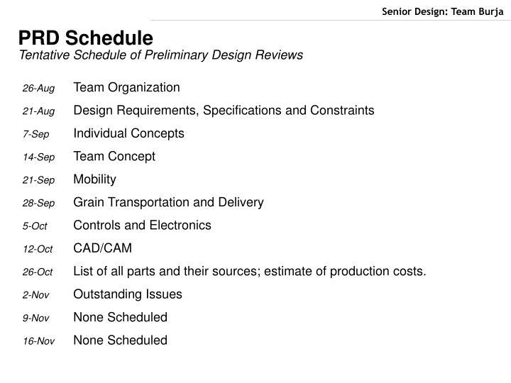Senior Design: Team Bur...