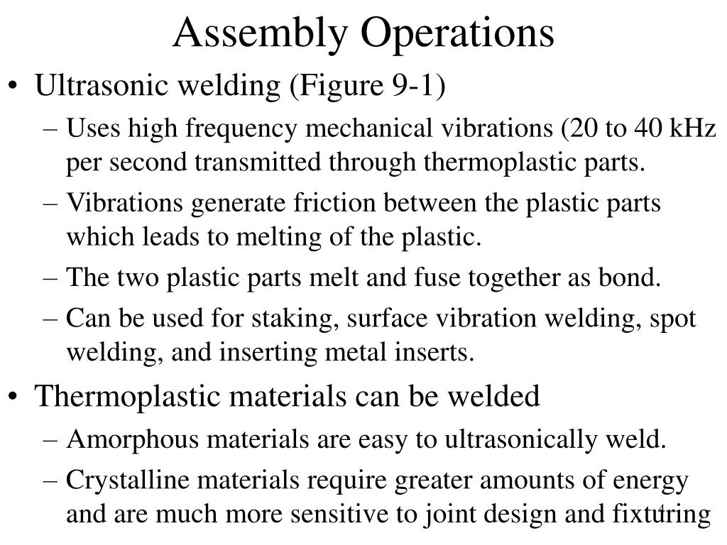Assembly Operations