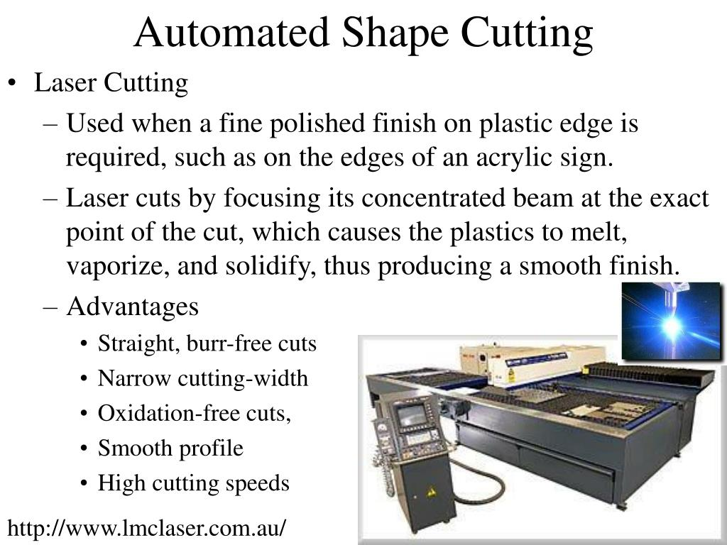 Automated Shape Cutting