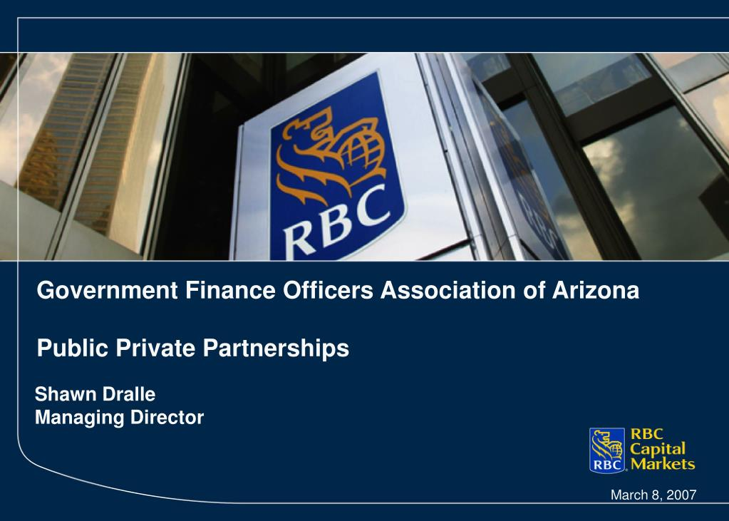 government finance officers association of arizona public private partnerships l.