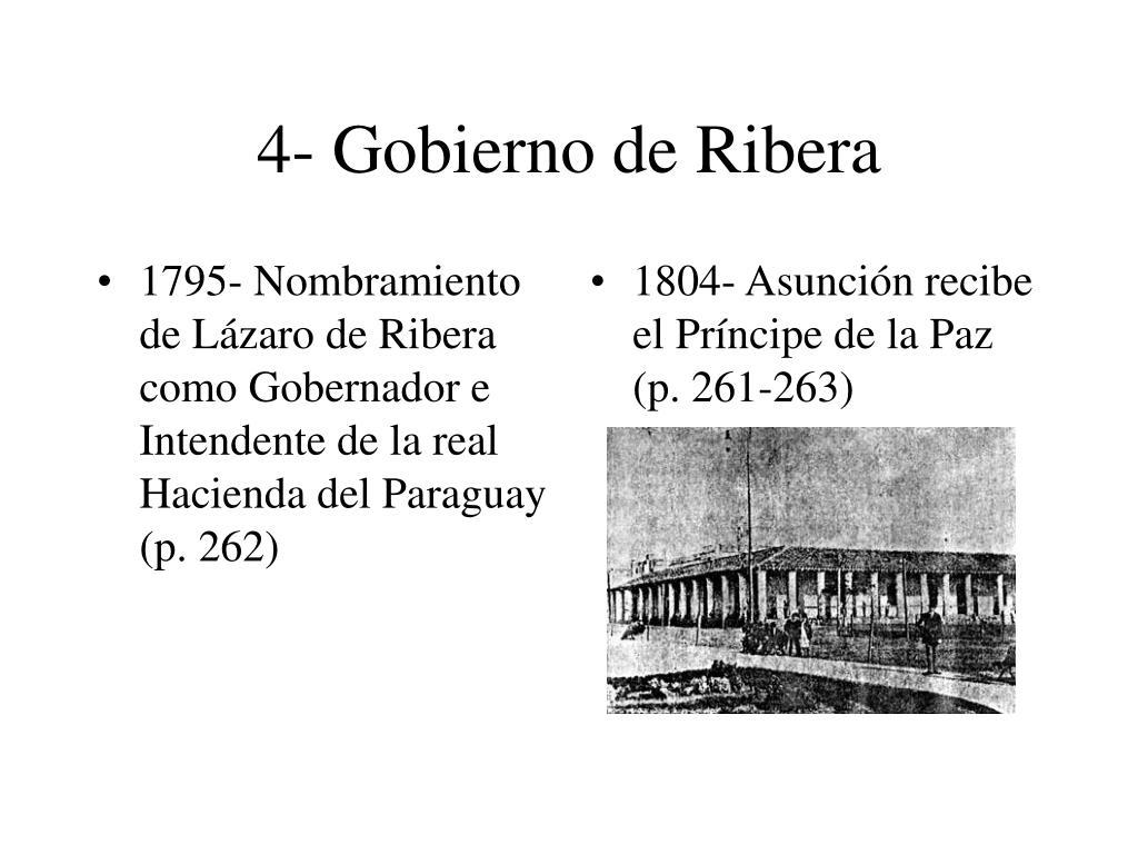 4- Gobierno de Ribera