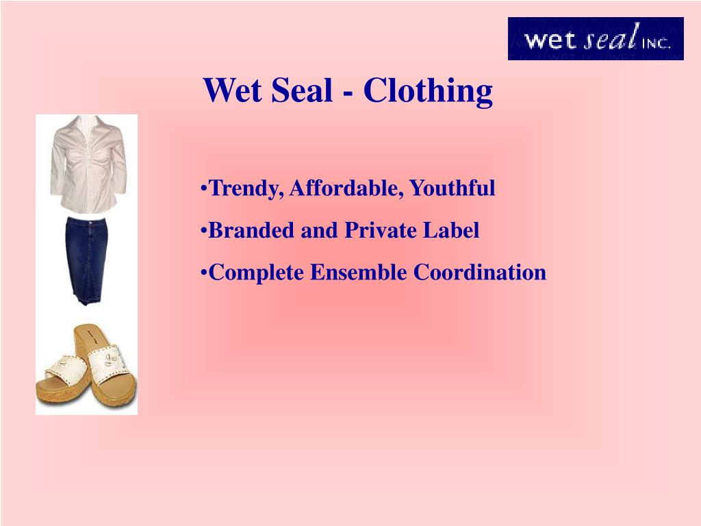 Wet Seal - Clothing