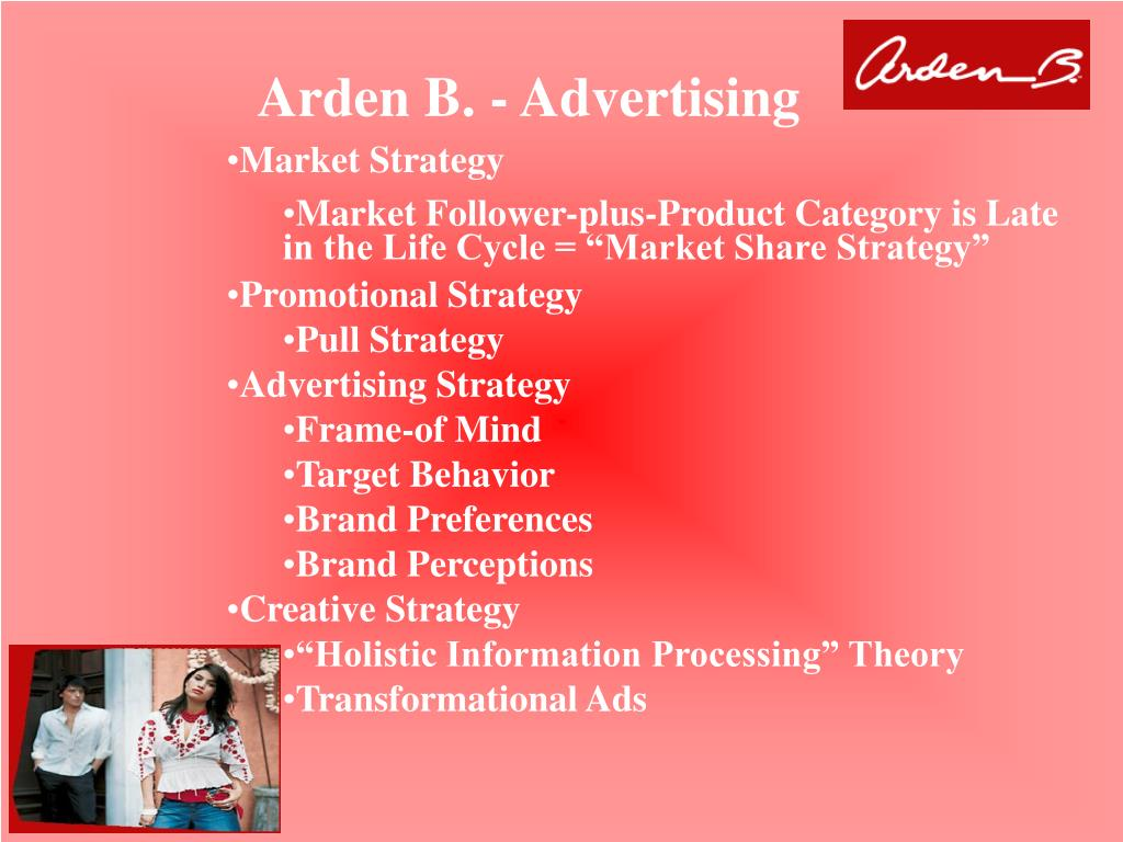 Arden B. - Advertising
