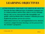 learning objectives19
