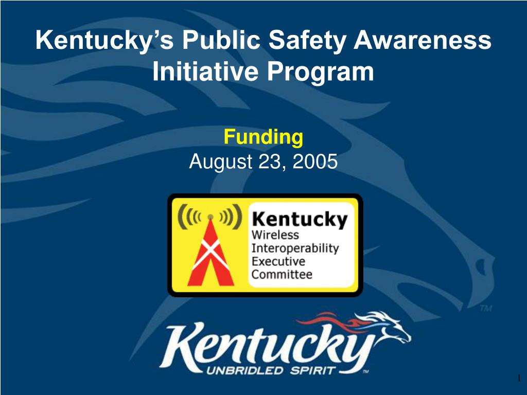 kentucky s public safety awareness initiative program l.
