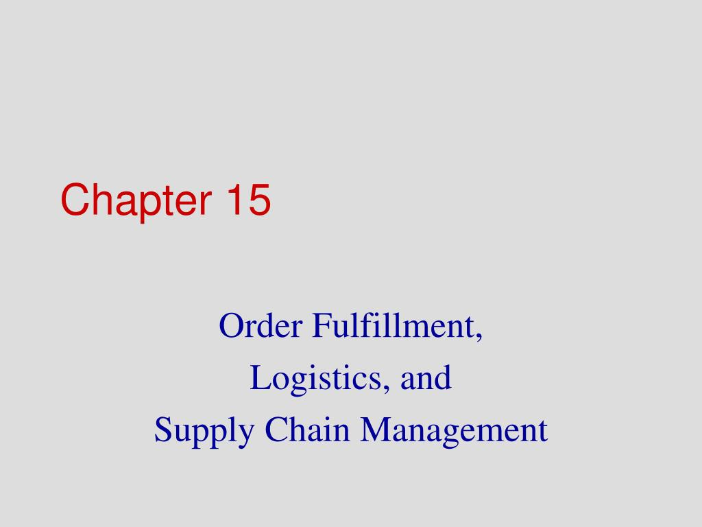 chapter 15 l.