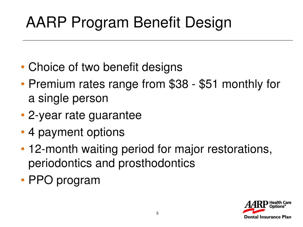 Choice of two benefit designs