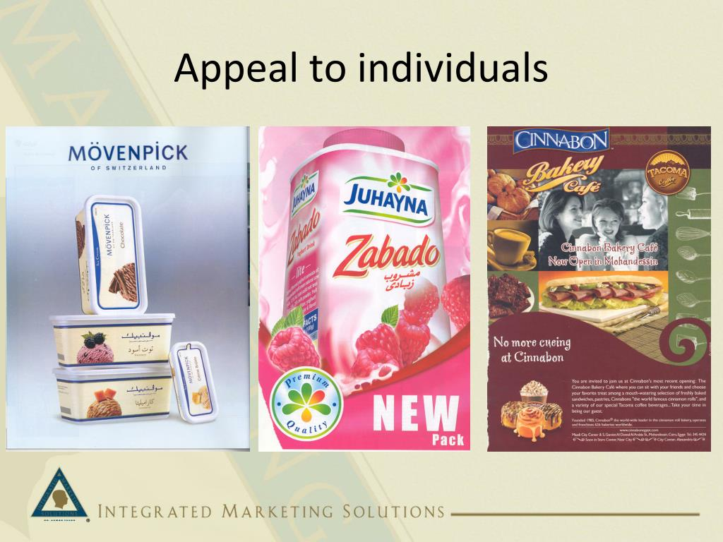 Appeal to individuals