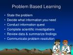 problem based learning26