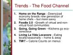 trends the food channel