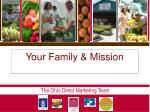 your family mission