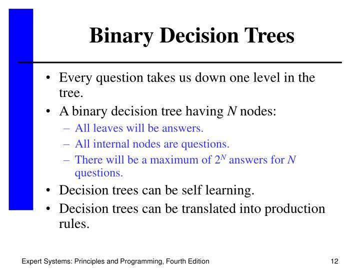 Binary Decision Trees