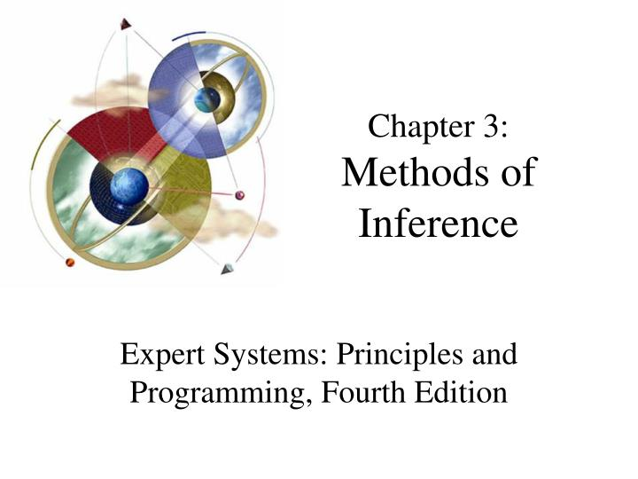 Chapter 3 methods of inference