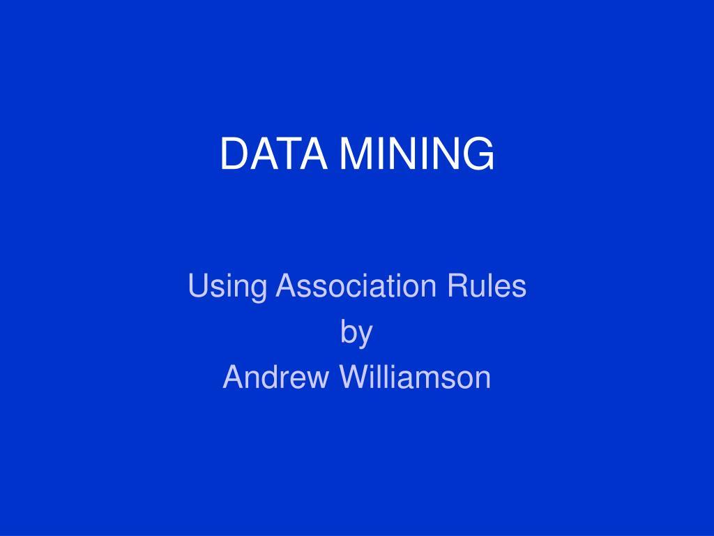data mining l.