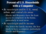 percent of u s households with a computer