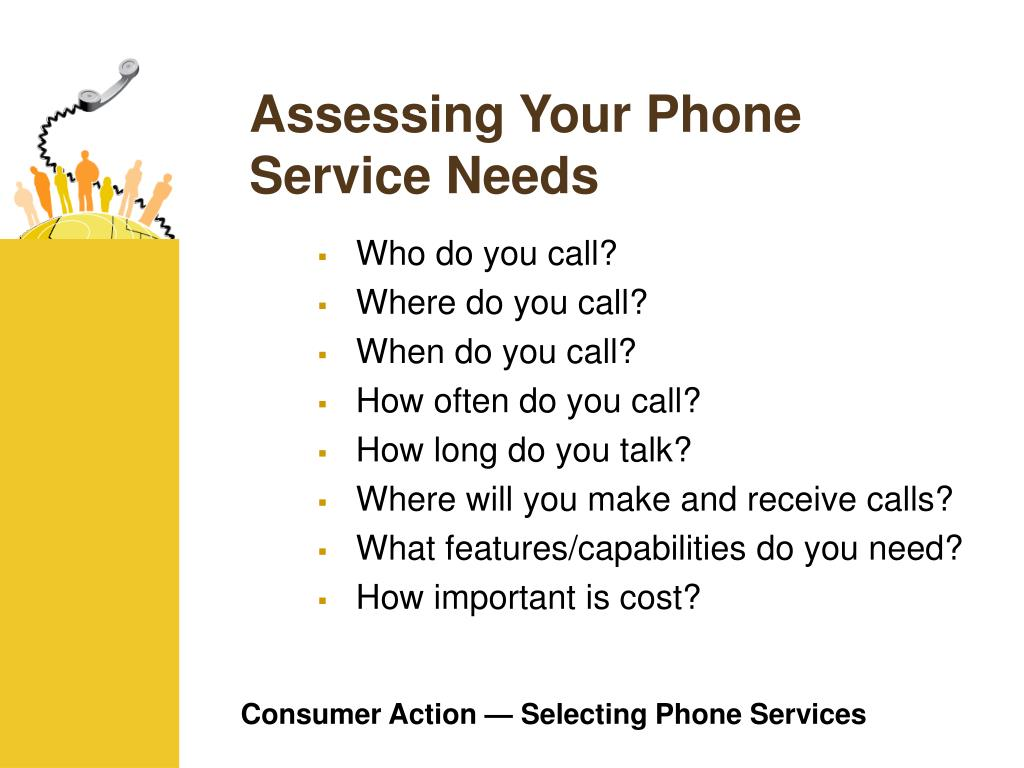 Assessing Your Phone Service Needs