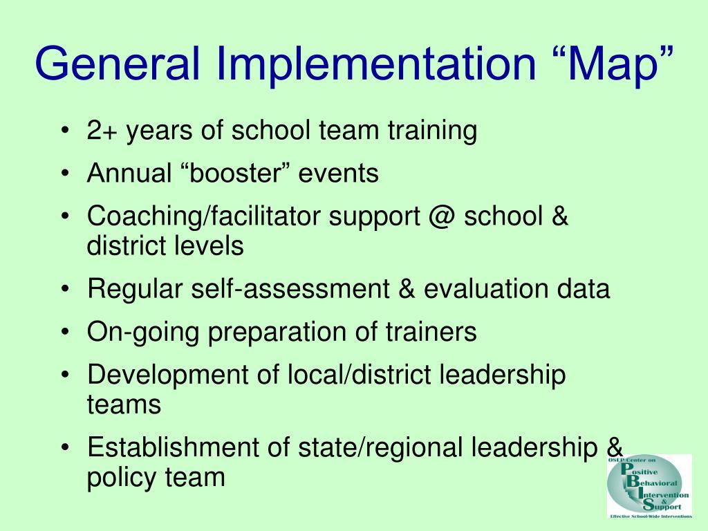"General Implementation ""Map"""