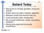 ballard today