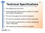 technical specifications43