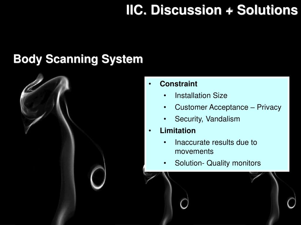 IIC. Discussion + Solutions