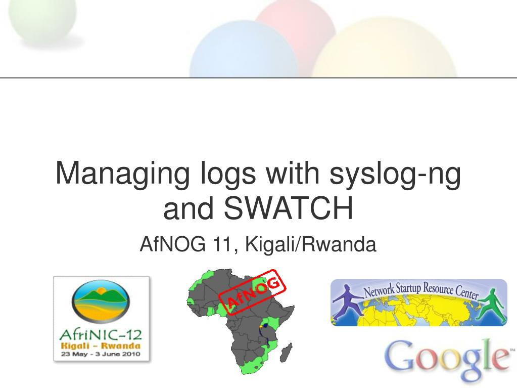 Managing logs with syslog-ng and SWATCH