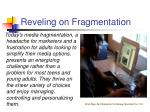 reveling on fragmentation