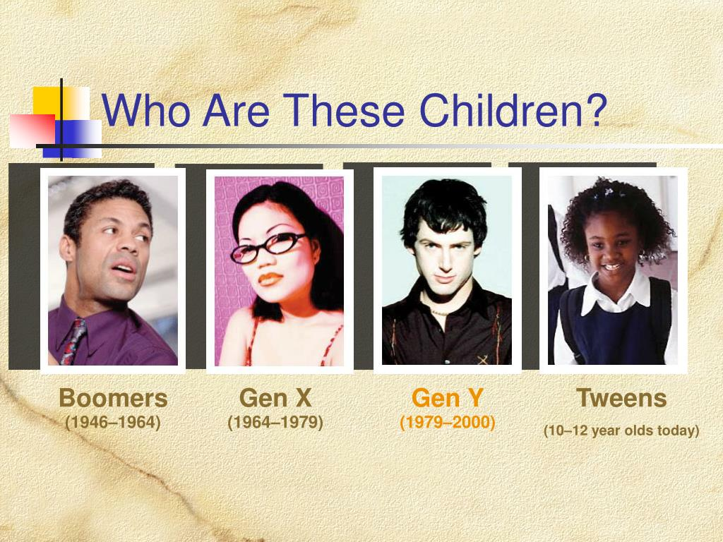 Who Are These Children?