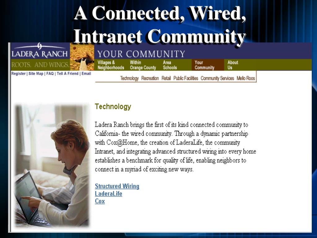 A Connected, Wired,