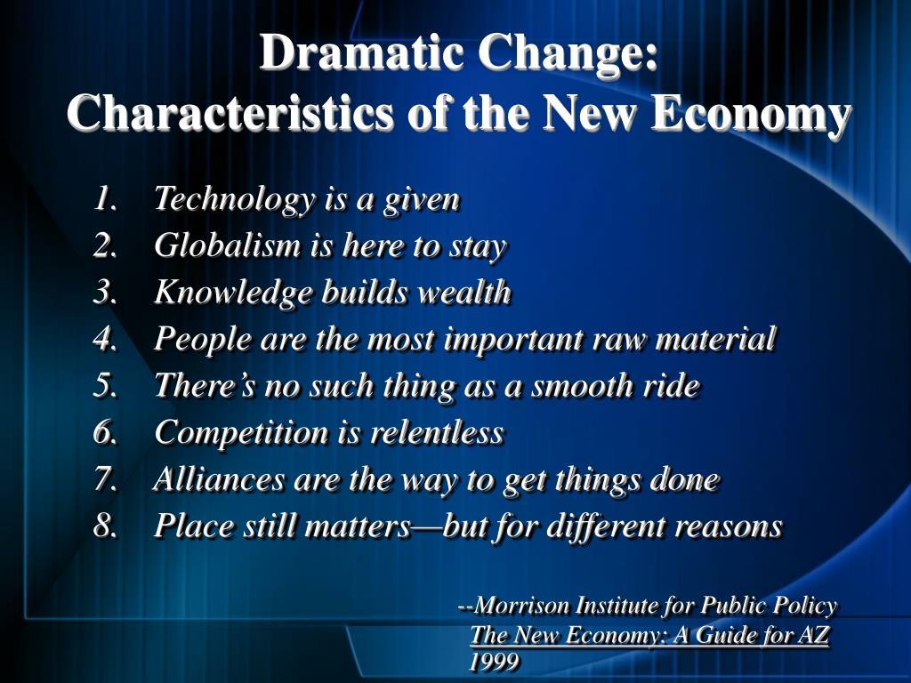 Dramatic Change: