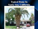 typical home in santa ana california