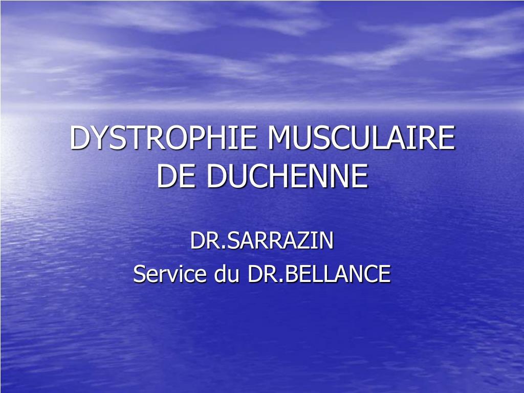 dystrophie musculaire de duchenne l.