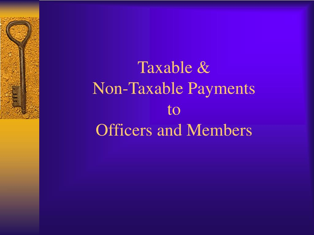 Taxable &