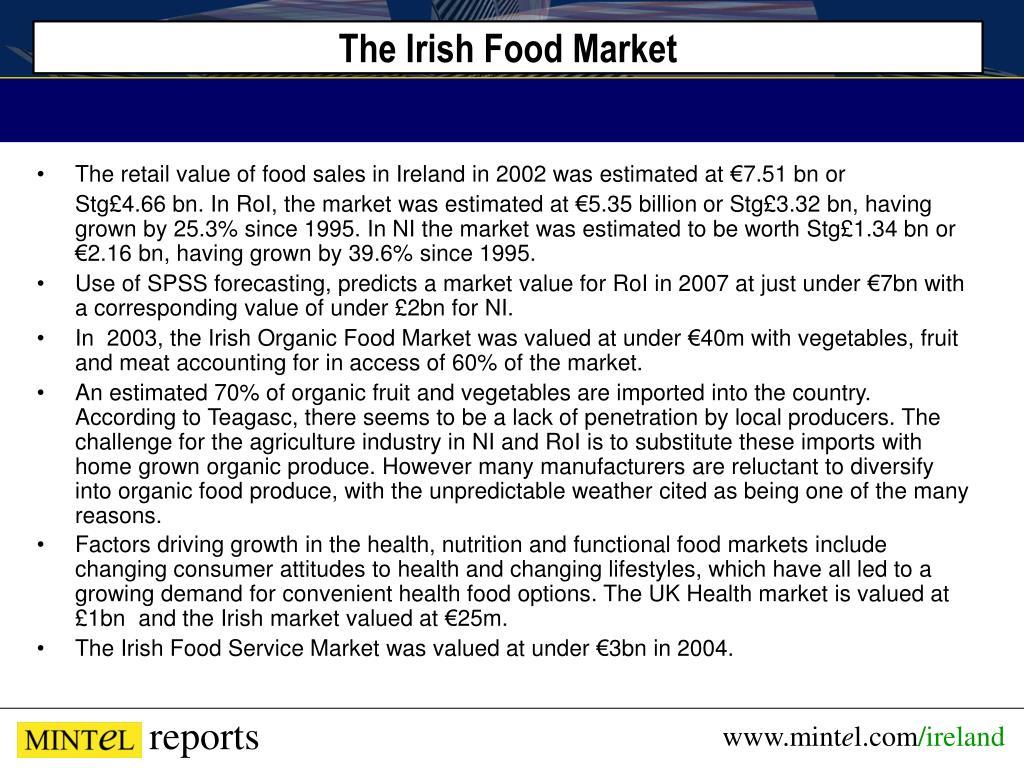 The Irish Food Market