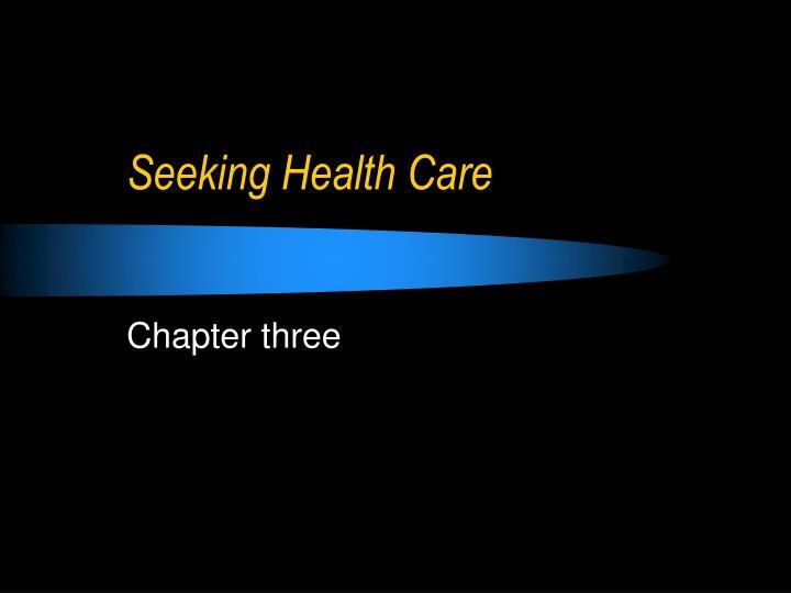 Seeking health care