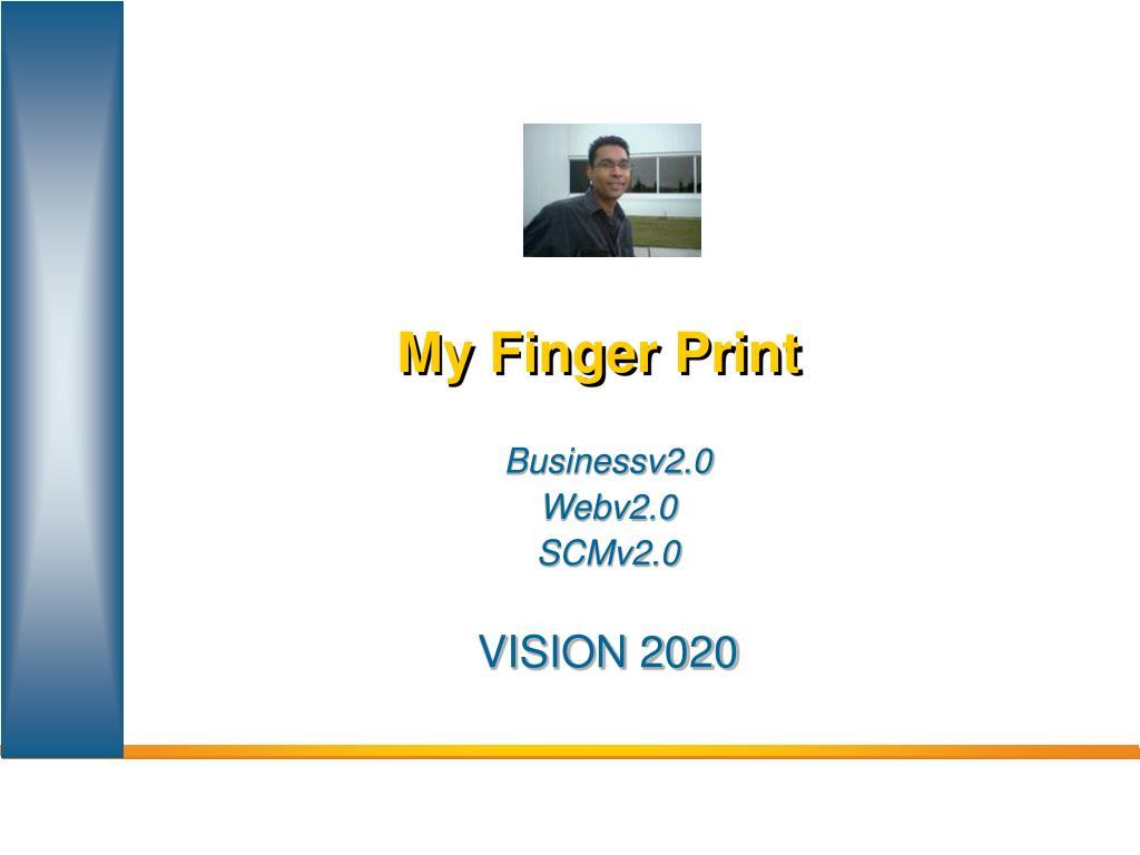 my finger print l.