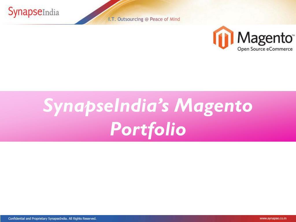 SynapseIndia's Magento