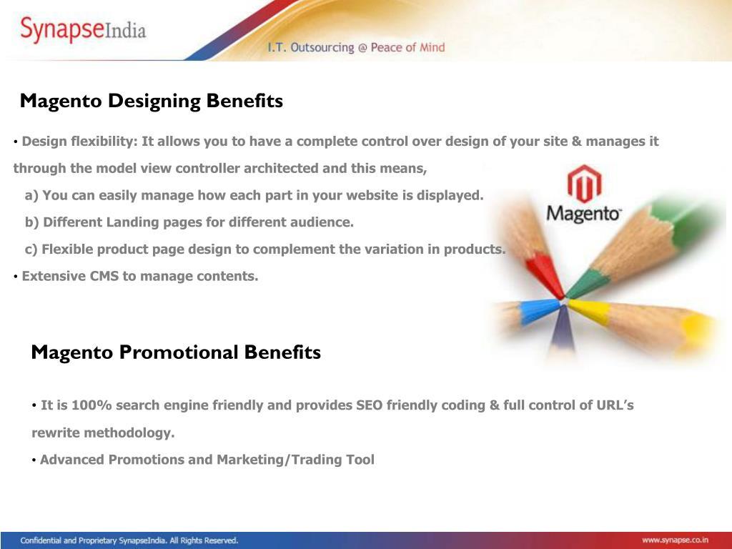 Magento Designing Benefits