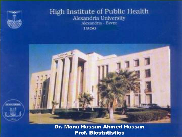 Dr. Mona Hassan Ahmed Hassan