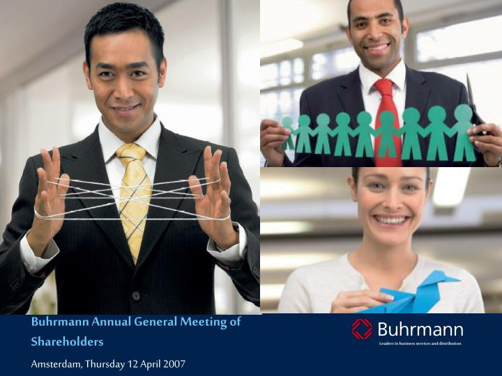 Buhrmann Annual General Meeting of Shareholders
