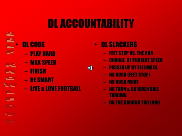 Dl accountability