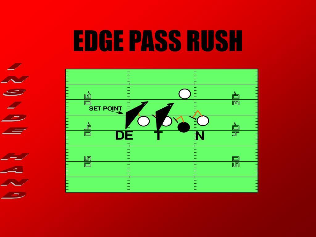 EDGE PASS RUSH