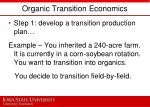organic transition economics