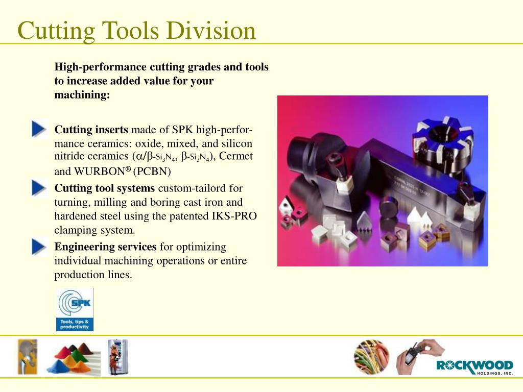 Cutting Tools Division