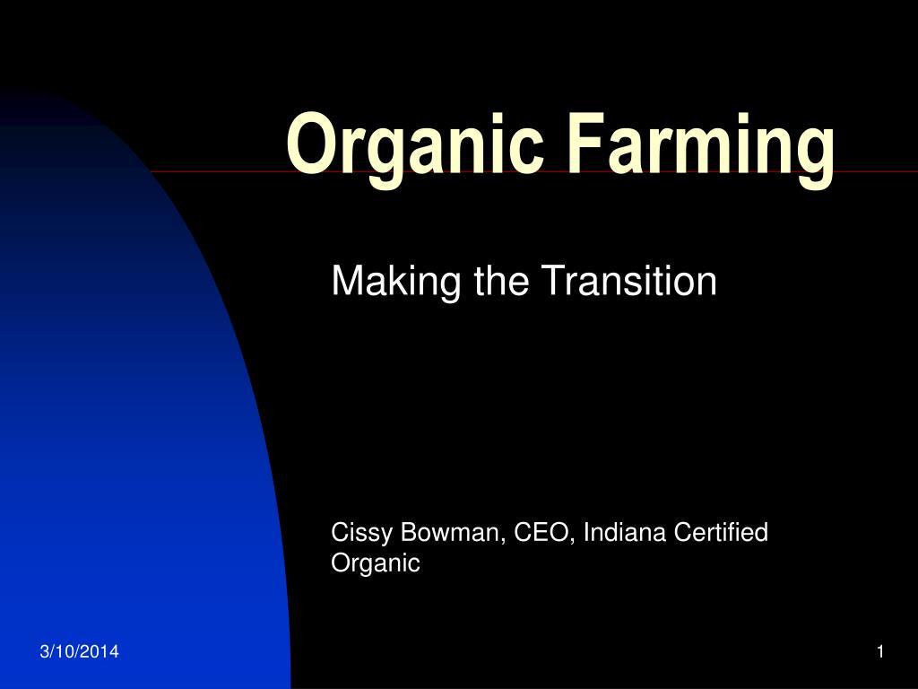 organic farming l.