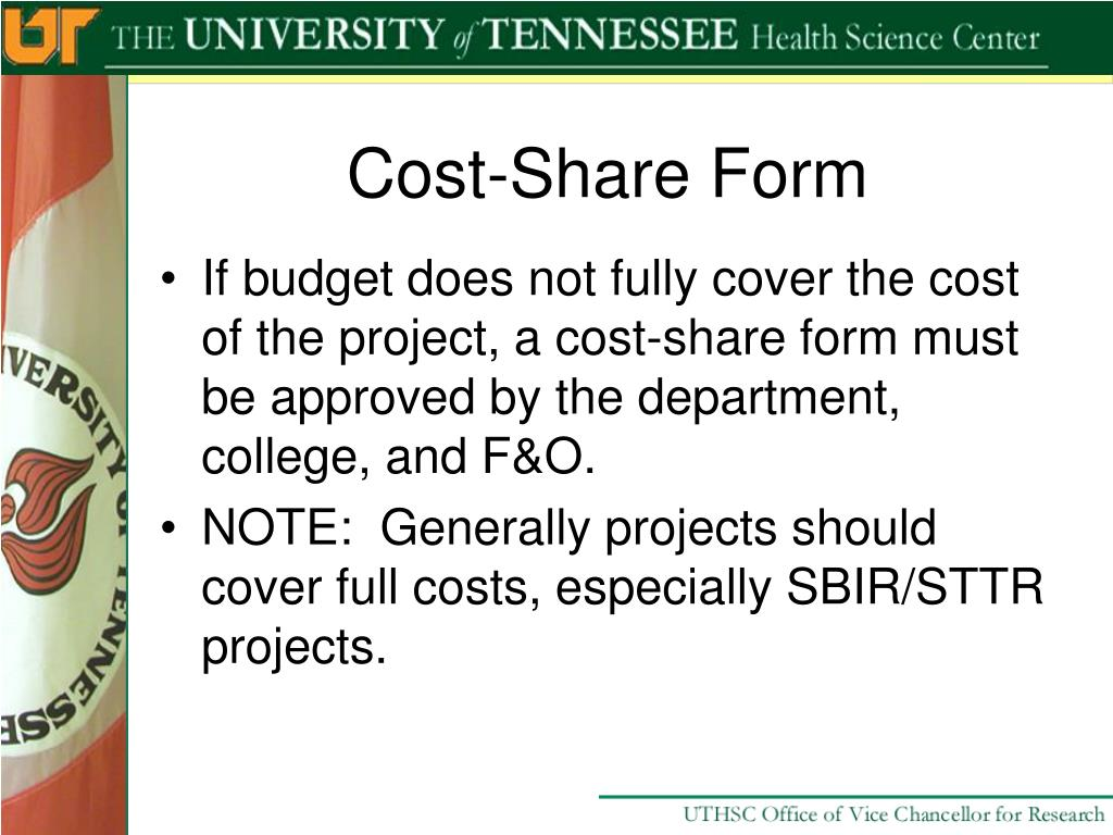 Cost-Share Form